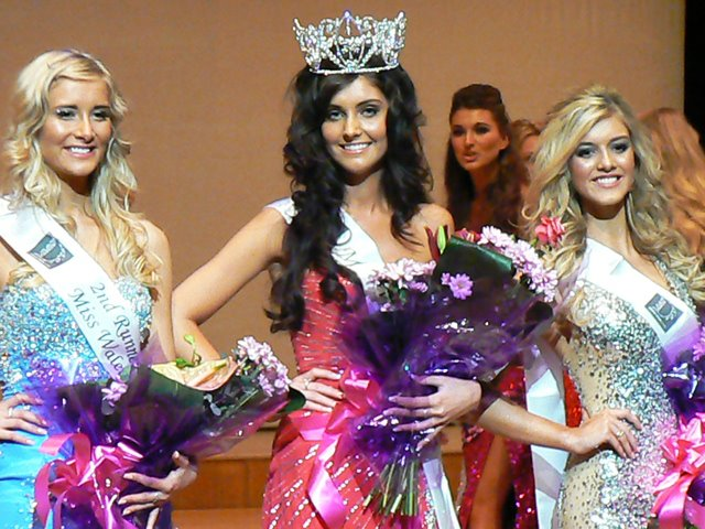 Sophie Moulds Crowned Miss Wales 2012