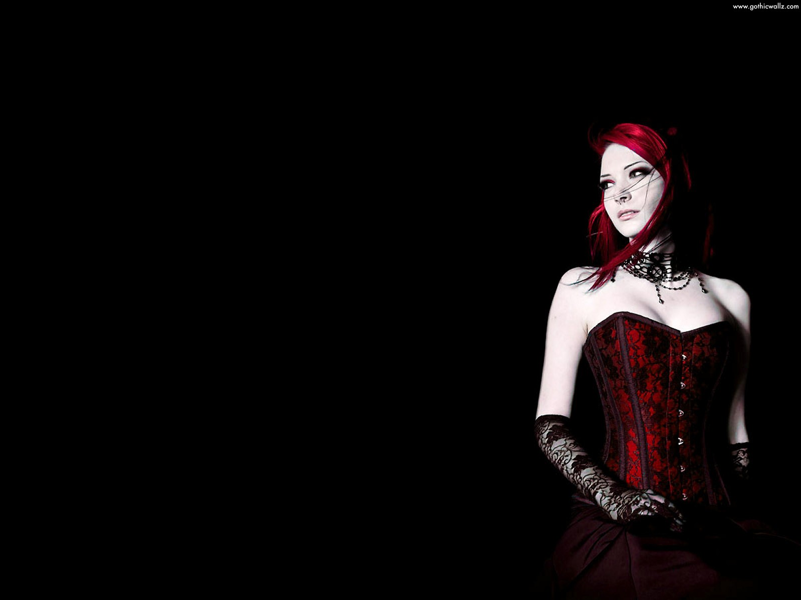 gothic girls wallpaper by - photo #37