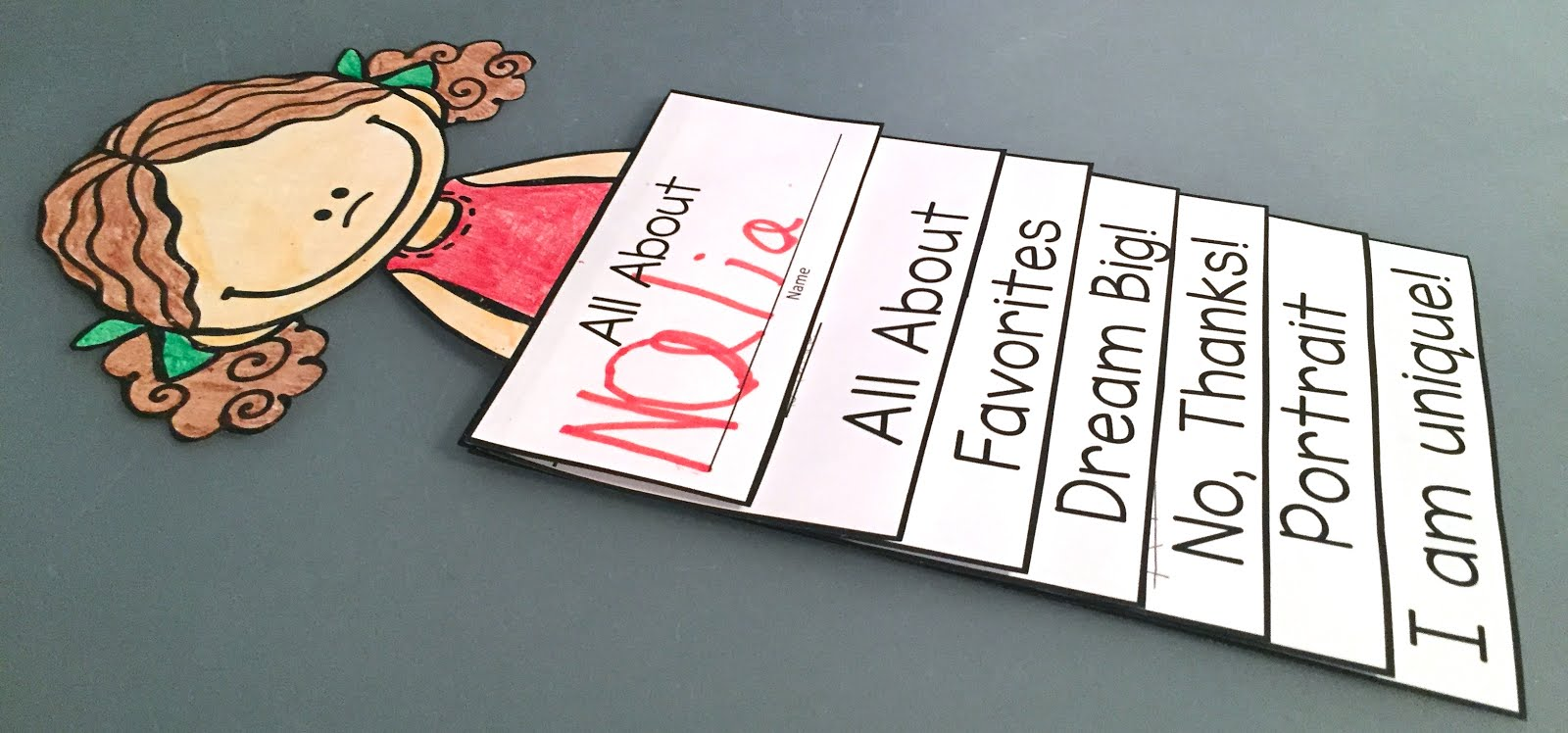 This is a photo of Irresistible Printable Flip Books