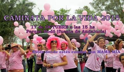 Mama mía - Caminata por la vida (parque Rodó, 17/oct/2015)
