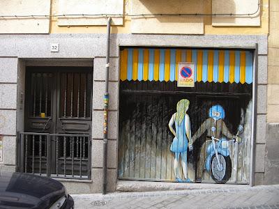 mural en garaje