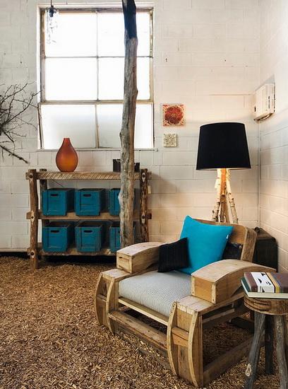Eco design legno a nuovo for Materiali mobili