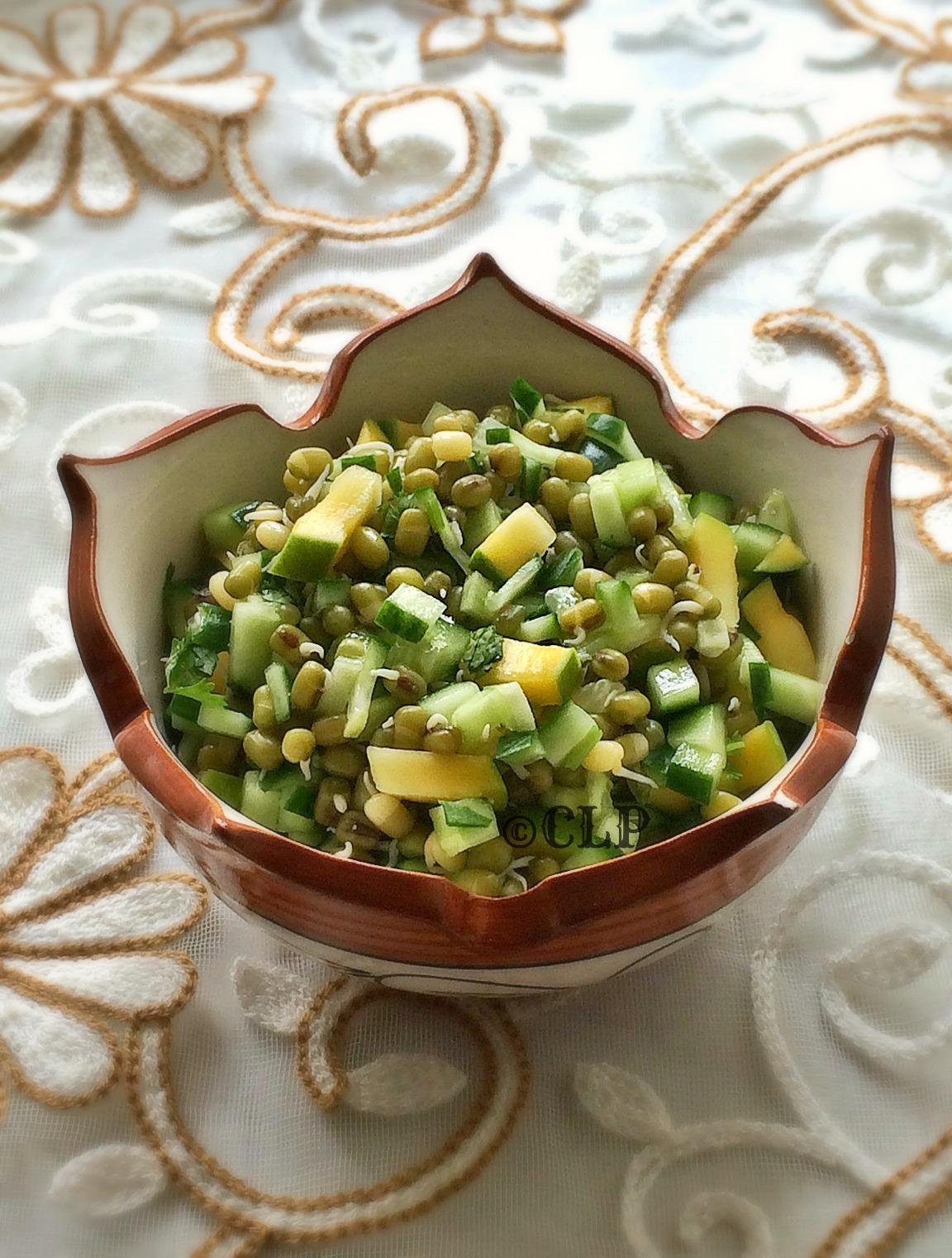 Weight loss no oil salad recipe