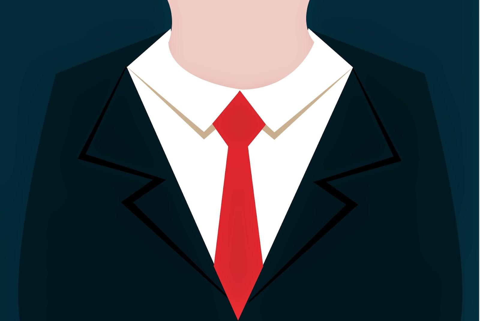 Business Uniform Flat Illustration Vector