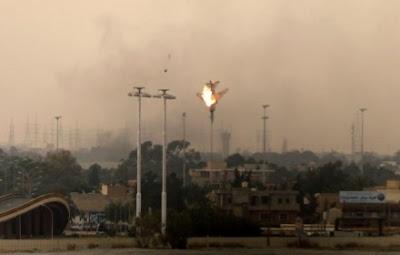 avion cae en libia