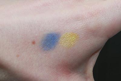 Yves Saint Laurent palette ombres duolumières 37 test