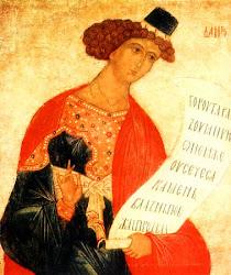 le Prophète Daniel, saint protécteur de notre activité missionnaire