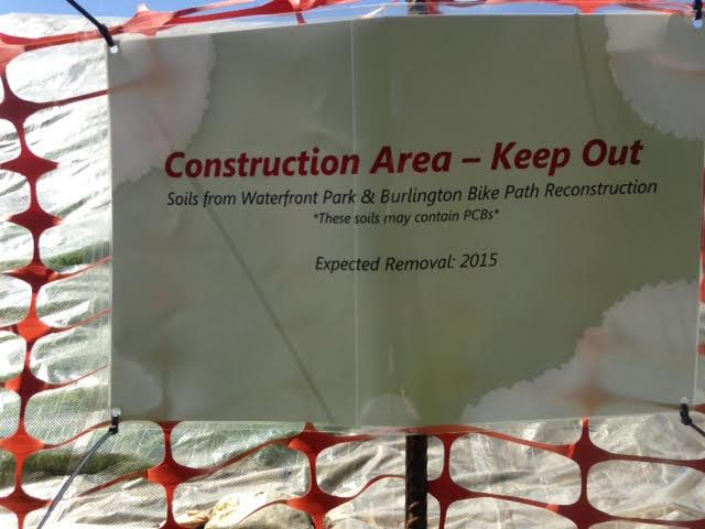 Contaminated Soil dumped in Leddy Park by City