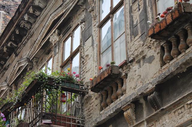 Budapest balcony