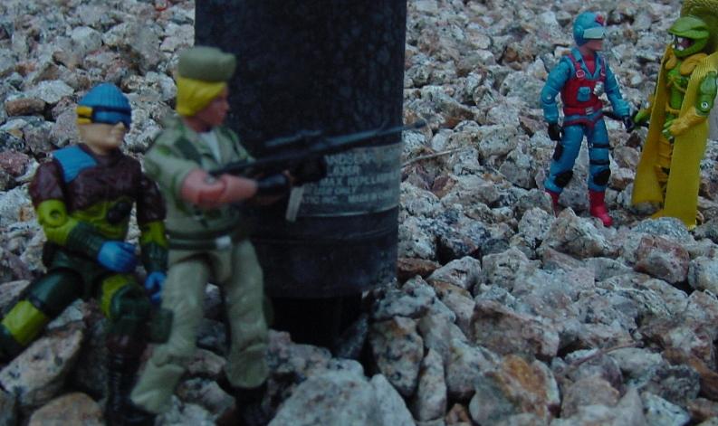 2005 Daina, Oktober Guard, Comic Pack, European Exclusive Slaughters Marauders Low Light, Serpentor, Scrap Iron