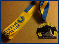 Medaglia Maratona di Boston