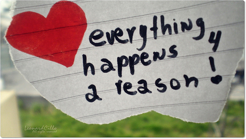 Life Reflections On My Journey Everything Happens For A Reason