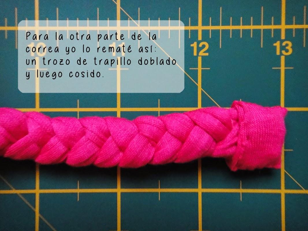 DIY- Correa de reloj - Paso 7