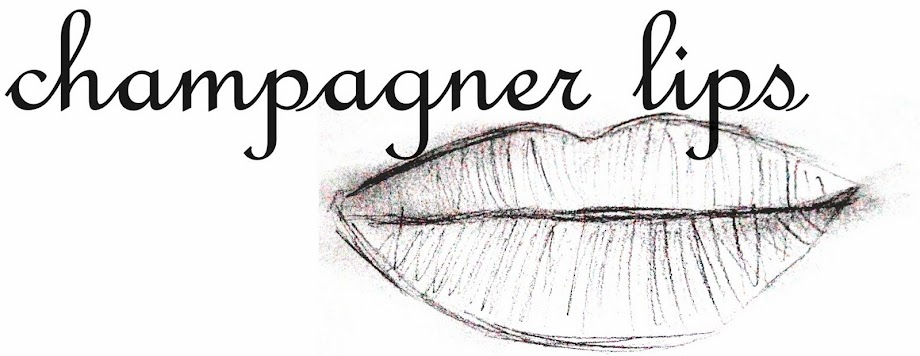champagner lips