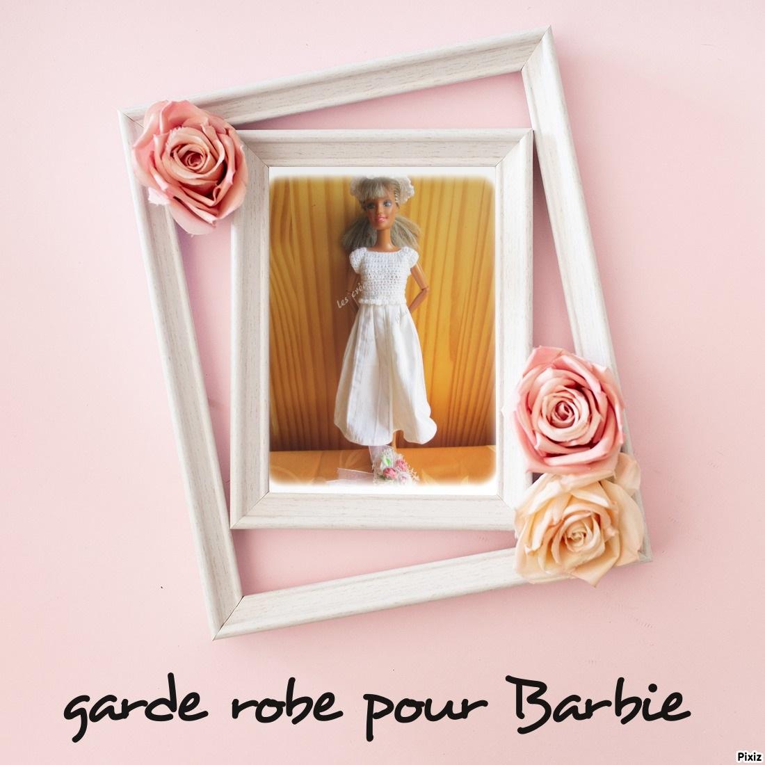 Ma garde robe pour Barbie
