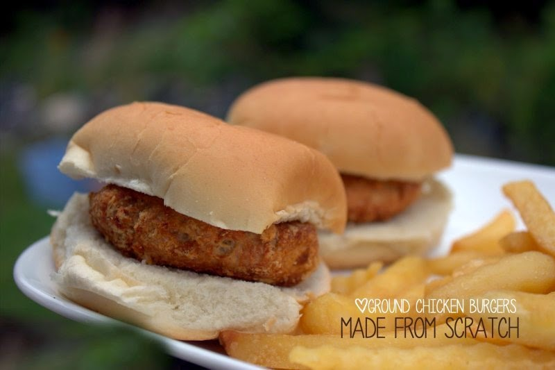 how to cook ground chicken burgers