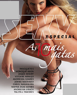 1 Download   Revista Sexy Especial : As 10 Mais Gatas   Revista Digital + Vídeo   Dezembro 2012