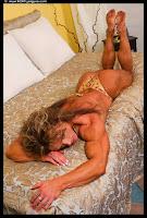 Sheila Bleck Muscular Legs Back Calves