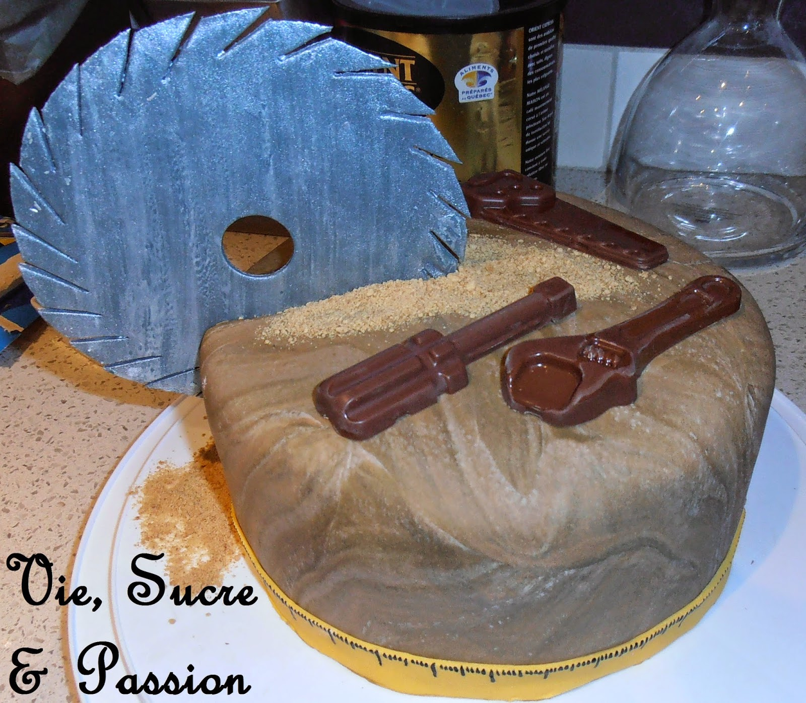 Edible Tools, Handyman Cake. Cake for a man.