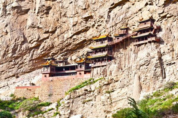 Suspended Temple of Mt. Hengshan, China