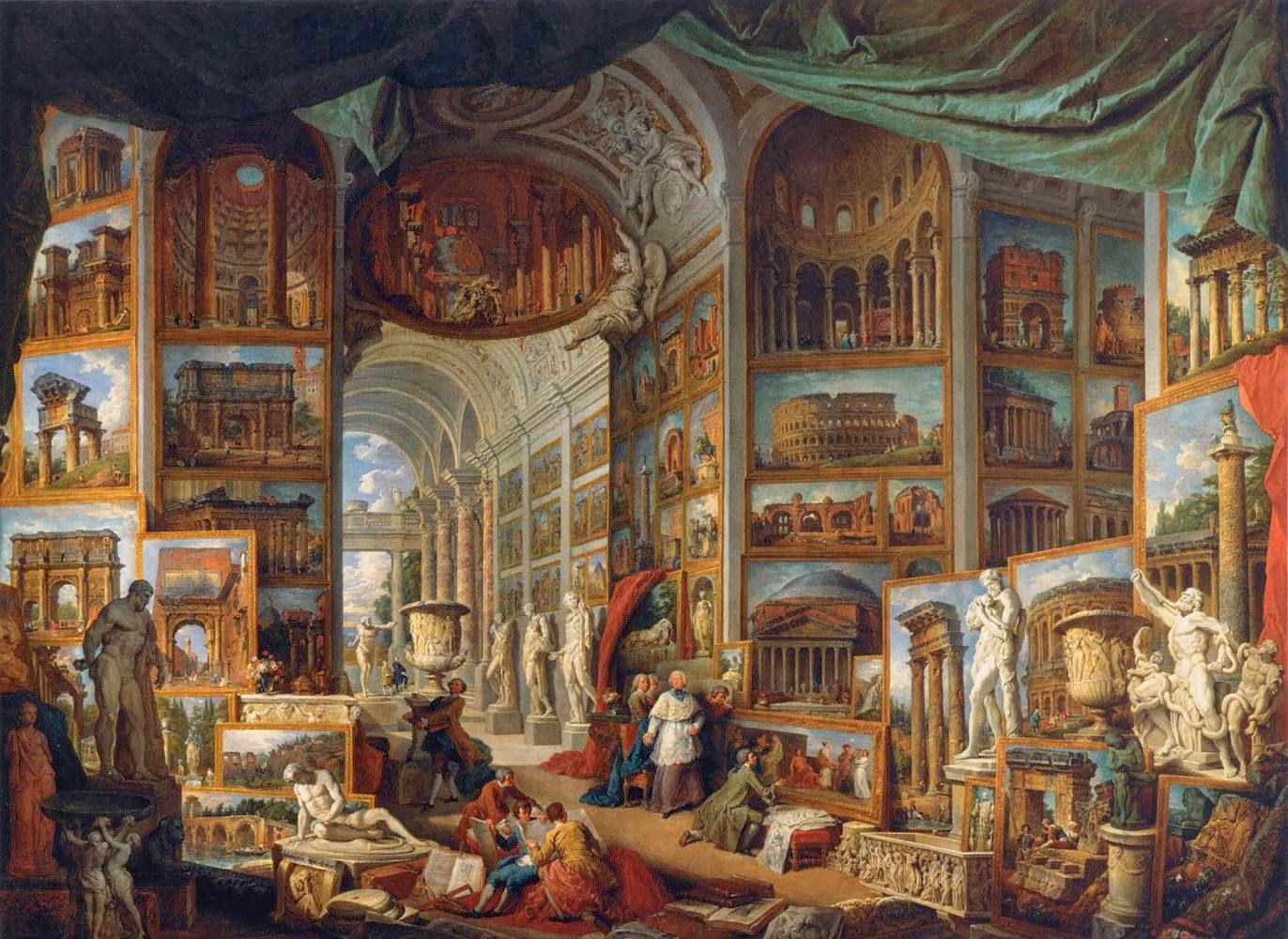 Galleria di vedute di Roma antica