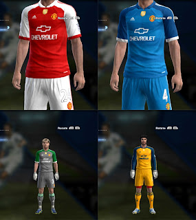 Fantasy Kits Man. United Sponsor Chevrolet by Archi