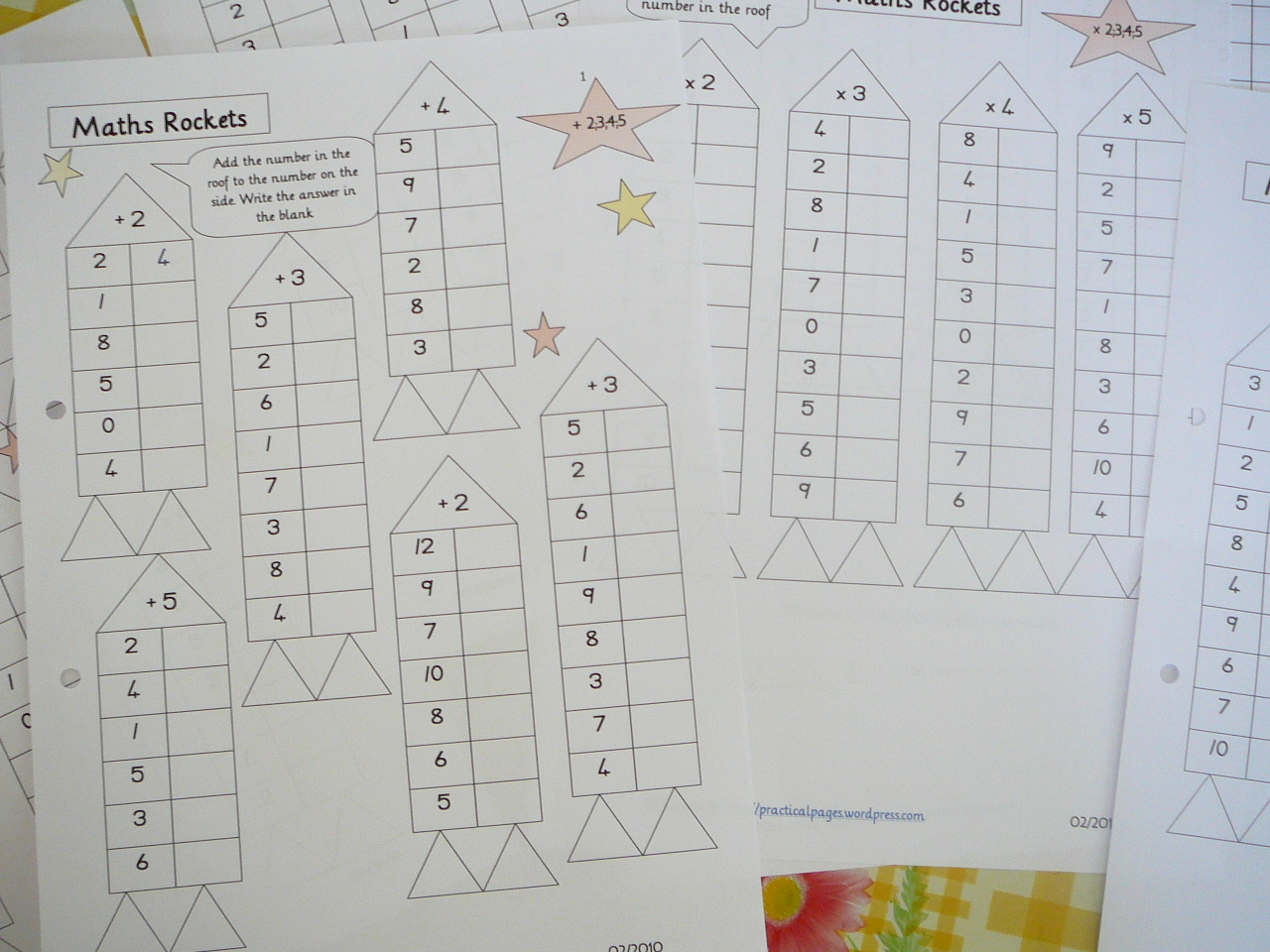 Rocket Math Worksheets Multiplication – Rocket Math Worksheets Addition