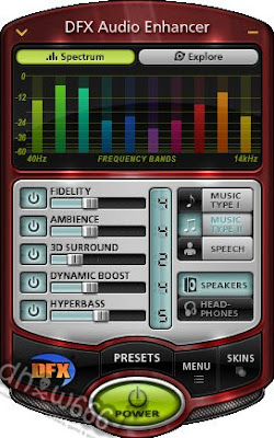 Download DFX AUDIO ENHANCER v10.130 Full Keygen