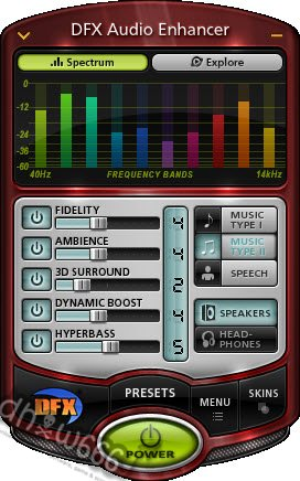 Download DFX Audio Enhancer v10.008 Full Keygen ~ MediaFire