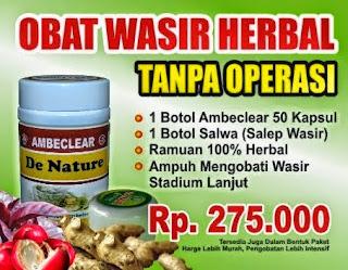 Obat Herbal Untuk Wasir Atau Ambeyen
