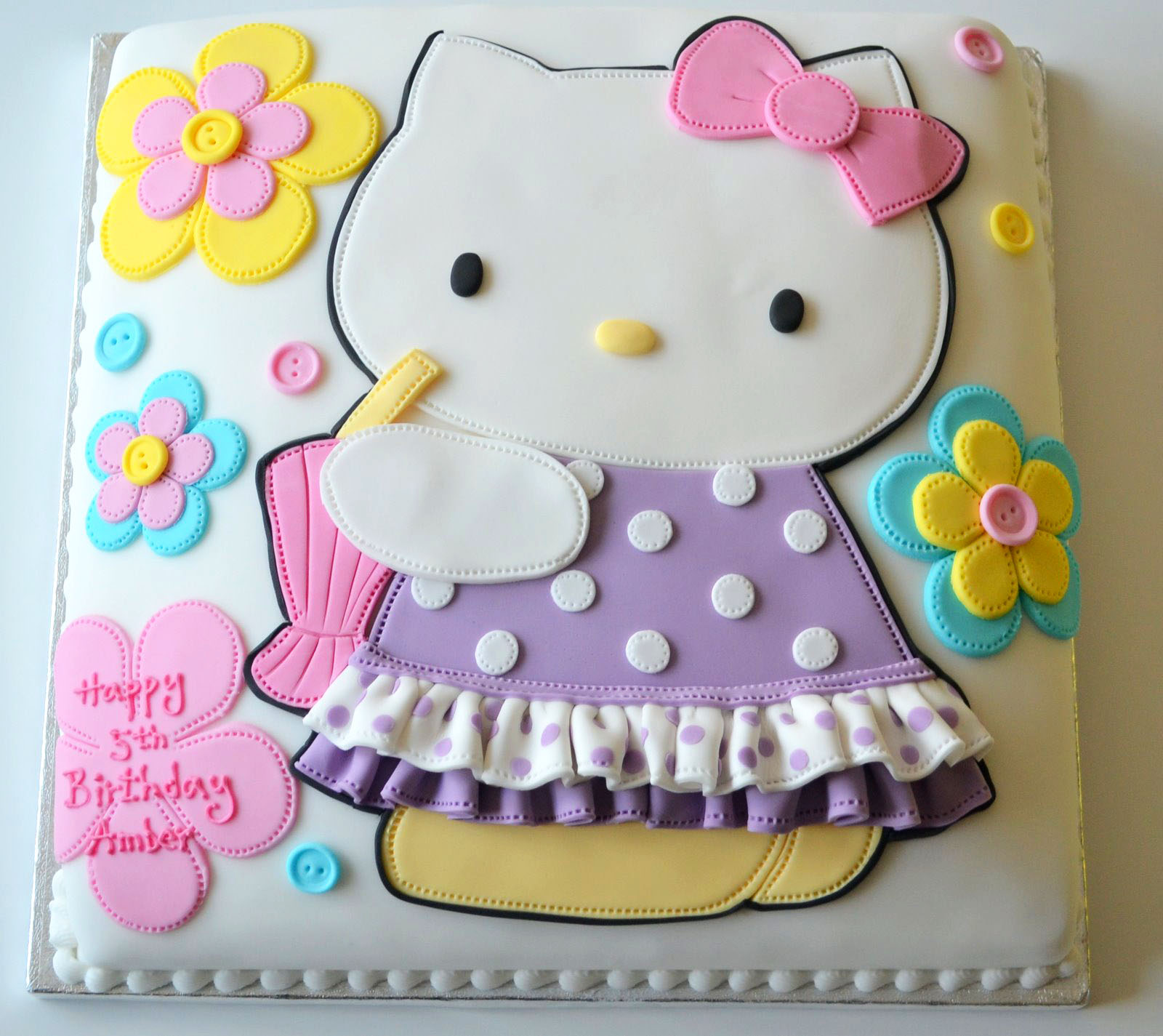 Images Of A Hello Kitty Cake : Deborah Hwang Cakes: How to make Hello Kitty cake