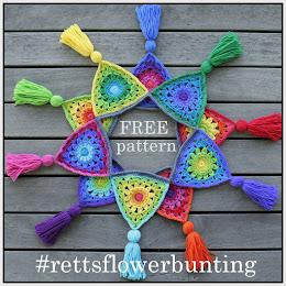 Rett's Flower Bunting Pattern