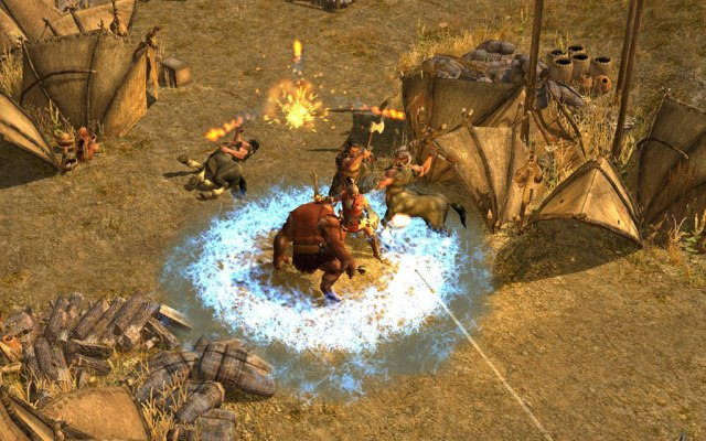 Titan Quest PC Games Gameplay