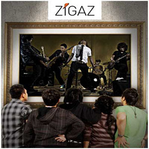 artis zigaz judul cinta gila album single 2012