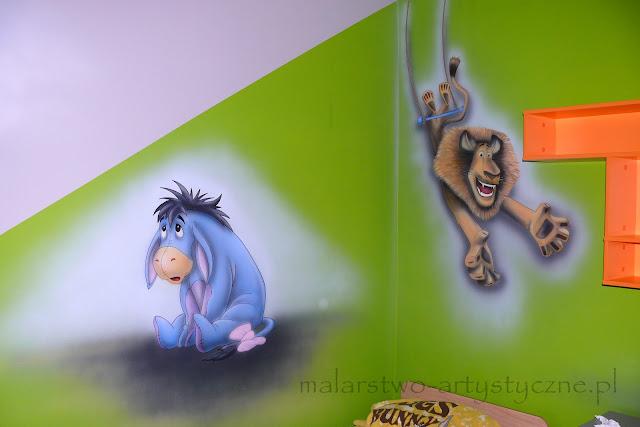 malownie obrazu na ścinie w pokoju chłopca, mural ścienny 3d. ciekawy pomysł na aranżację pokoju dziecięcego.