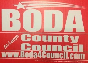 Boda For County Council At Large