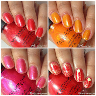 Citrus Twist nail polish collection from SinfulColors