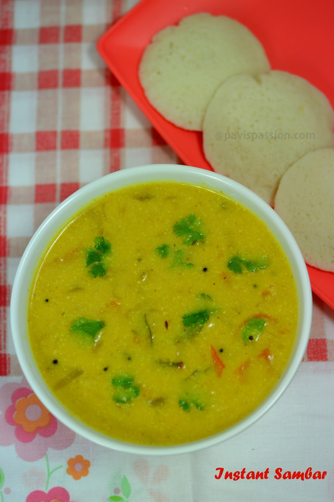 PavisPassionInstant Sambar Quick Sambar No pressure Cook Sambar