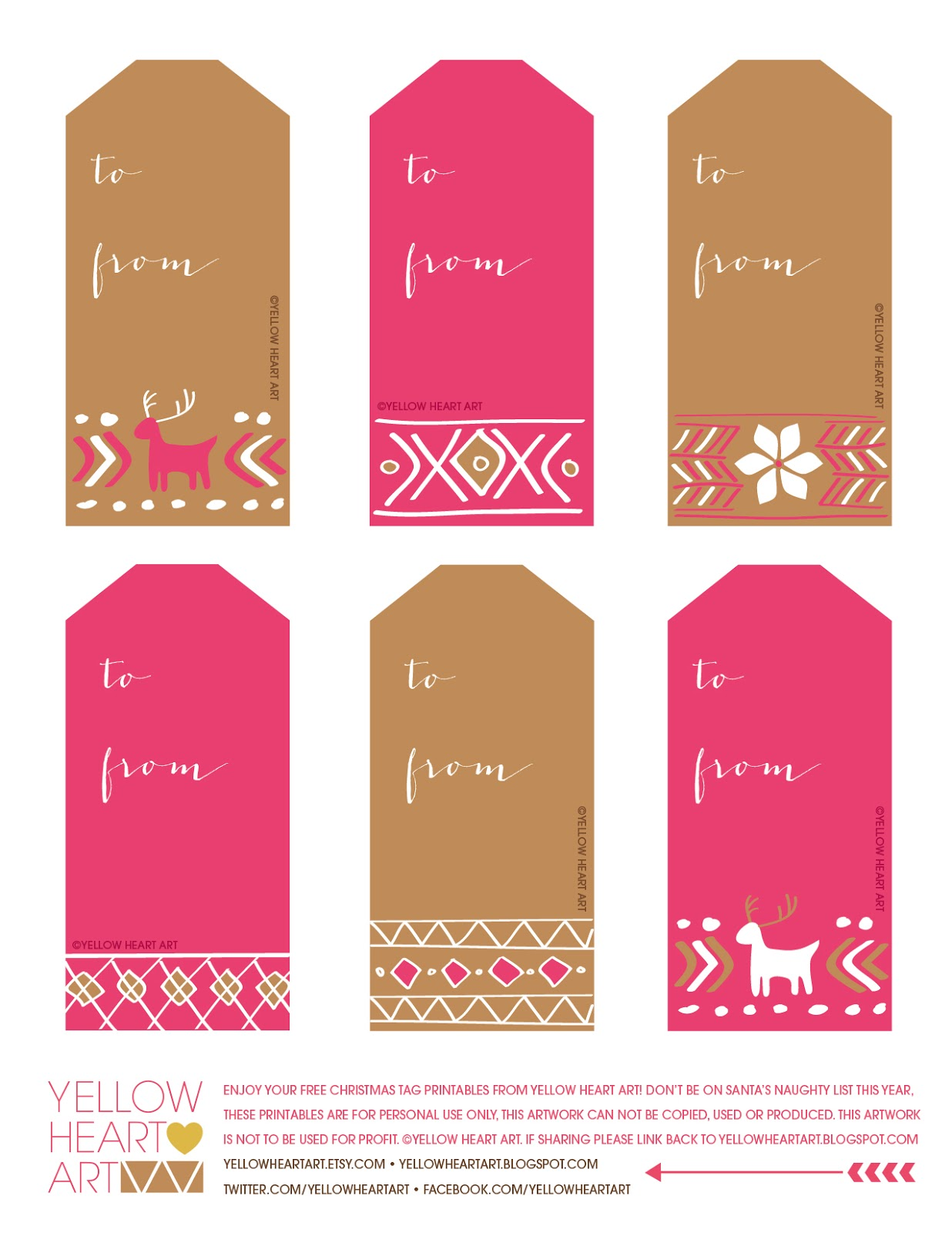 image regarding 12 Days of Christmas Printable Tags referred to as jessicaNdesigns: 12 Times of Xmas: Free of charge, Printable Present Tags