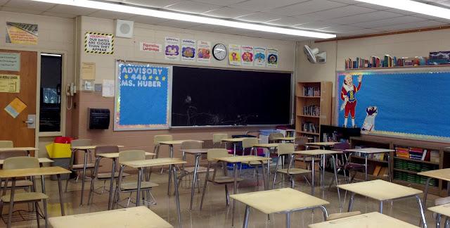 new ELA classroom