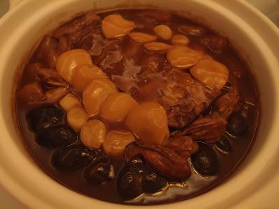 金鲍腩排海味锅