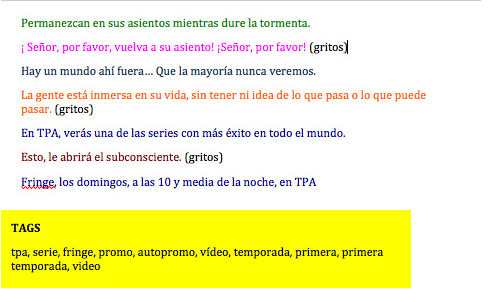 transcripcion de videos