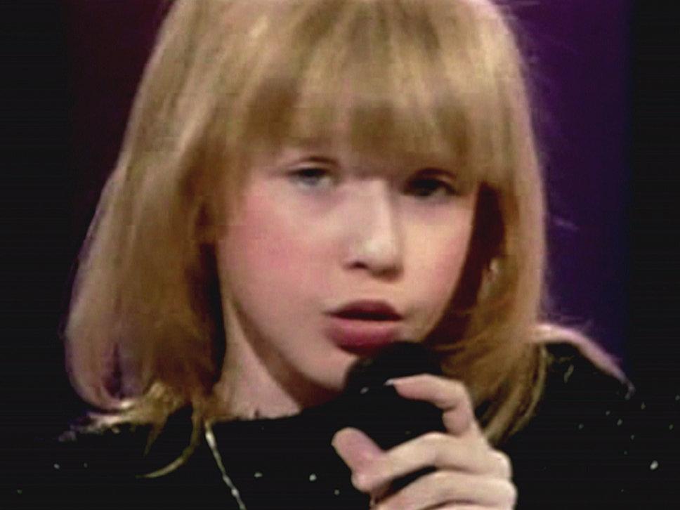 christina aguilera childhood - photo #3