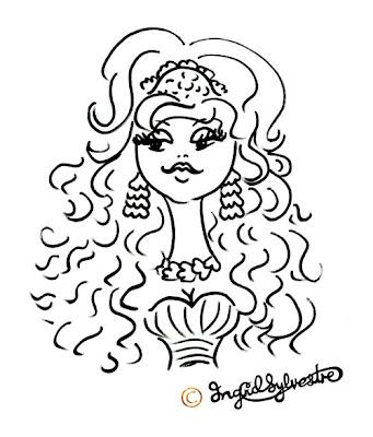 Durham Wedding Entertainment, Ingrid Sylvestre Caricaturist & Silhouette Artist, North East Entertainment Durham Weddings