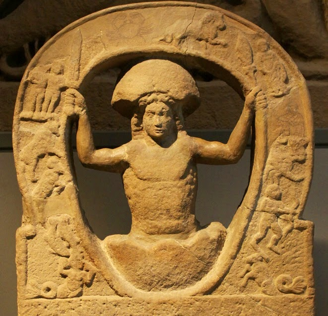 What does band name Mithras mean - Statue of god Mithras