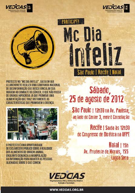 McDia Infeliz - São Paulo | Recife | Natal