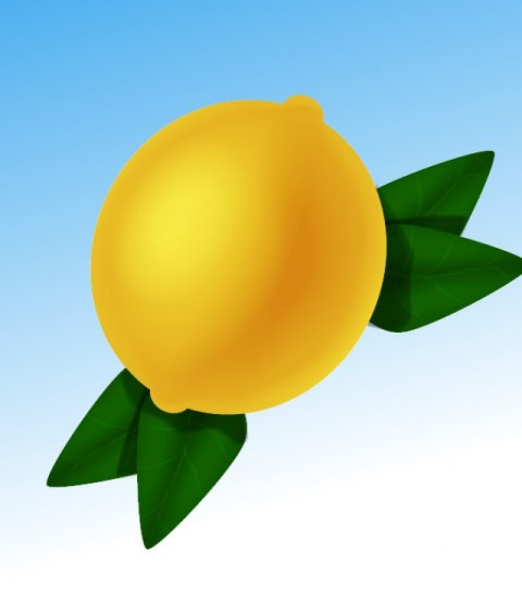 Create a Simple Lemon in Adobe Illustrator