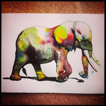 Click the Elephant to see more of my artwork =)