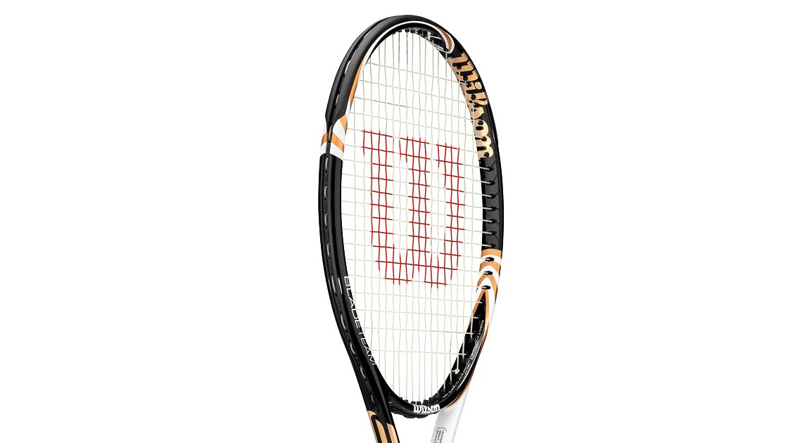 ... and Smashes: Wilson Blade Team BLX: a racquet for the whole family Family