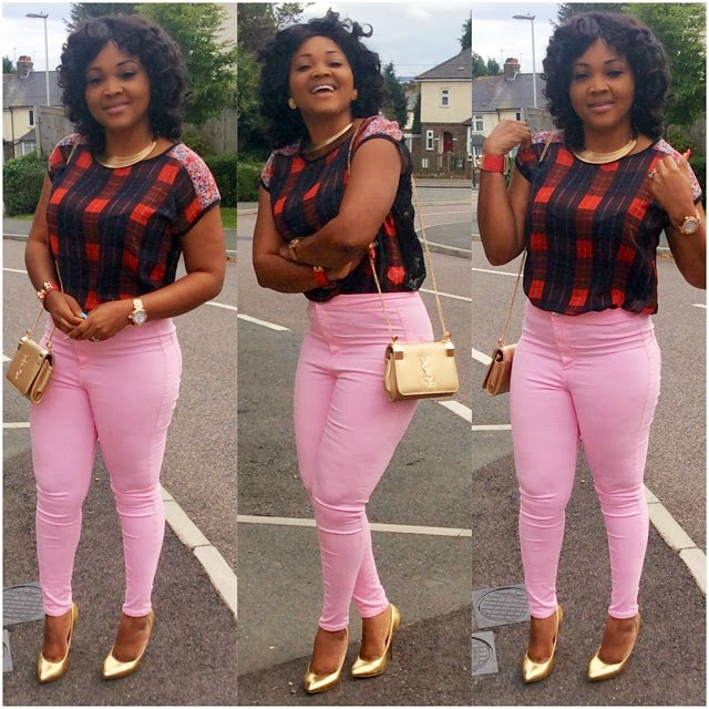 Mercy Aigbe's Lovely Style